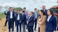 Thứ trưởng Bộ Nông nghiệp - PTNT thăm mô hình kinh tế tại huyện Nghĩa Đàn