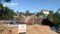 Cầu xuống cấp ở Yên Thành được đầu tư trên 13 tỷ đồng