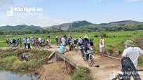 Đã tìm được nam thanh niên mất tích bất thường ở Yên Thành