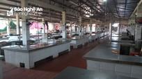 Người dân ở nhà phòng dịch, chợ ở huyện Nghệ An vắng chưa từng có