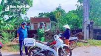 Gần 300 trường hợp ở Yên Thành vi phạm quy định phòng dịch bị xử phạt