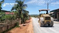 Tân Kỳ đẩy nhanh tiến độ dự án đường 15B