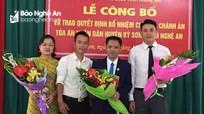 Trao quyết định bổ nhiệm Chánh án Tòa án nhân dân huyện Kỳ Sơn