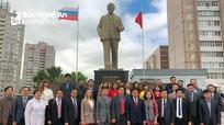 Chủ tịch UBND tỉnh Nghệ An hội đàm với lãnh đạo tỉnh Ulyanovsk, Liên bang Nga