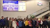 Trường THPT chuyên Phan Bội Châu trao đổi kinh nghiệm với ngôi trường mang tên Bác ở Nga