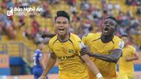Vòng 23 V.League 2019: B. Bình Dương 1-5 Sông Lam Nghệ An
