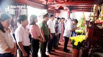 Lễ tưởng niệm 79 năm ngày mất nhà chí sĩ yêu nước Phan Bội Châu