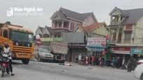 3 người bị xe ô tô cán khi đang tìm cách qua đường ở Nghệ An, 1 tử vong tại chỗ