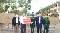 Người dân Nghệ An ủng hộ đồ bảo hộ y tế, lương thực, thực phẩm chống dịch Covid-19