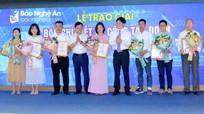 Báo Nghệ An đạt giải Nhì toàn quốc viết về công tác Đoàn và phong trào thanh thiếu nhi năm 2020