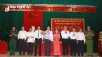 Bầu chức danh Chủ tịch HĐND, Chủ tịch UBND huyện Anh Sơn