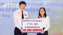 Bệnh viện Y học cổ truyền Nghệ An kêu gọi gây quỹ ủng hộ bệnh nhân nghèo gần 200 triệu đồng