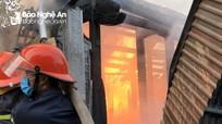 Nghệ An: Cháy nhà thờ họ trong ngày Rằm tháng 7
