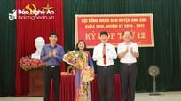 Bầu bổ sung Phó Chủ tịch HĐND và các ủy viên UBND huyện Anh Sơn