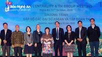 Điểm hẹn gặp gỡ của Đại sứ, Đại diện ngoại giao các quốc gia ASEAN và đối tác ASEAN tại Nghệ An