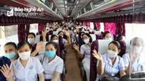 Hà Tĩnh điều động 152 cán bộ, nhân viên y tế chi viện cho Nghệ An chống dịch