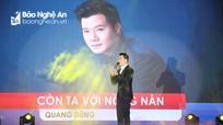 Ca sĩ Quang Dũng dự Lễ khai trương BEER NGON ở xứ Nghệ