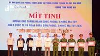 Bí thư Tỉnh ủy Nghệ An kêu gọi người dân đấu tranh với tệ nạn ma túy