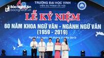 Kỷ niệm 60 năm Khoa Ngữ văn - Ngành Ngữ văn Trường Đại học Vinh