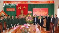 Bí thư Tỉnh ủy chúc mừng Hội Cựu chiến binh Nghệ An nhân kỷ niệm 30 năm thành lập
