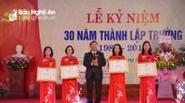 Trường Tiểu học Lê Lợi kỷ niệm 30 năm thành lập