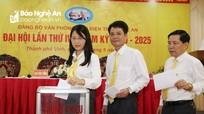 Đại hội Đảng bộ Văn phòng Bưu điện tỉnh Nghệ An nhiệm kỳ 2020 - 2025