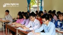 Giáo viên, học sinh ở Nghệ An nhận định đề tham khảo dễ, sẽ có mưa điểm 10