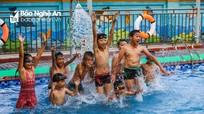 Nghệ An đầu tư tiền tỷ xây bể bơi trong trường học