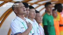 HLV Quang Trường tiếc nuối vì SLNA chưa làm vui lòng khán giả xứ Nghệ