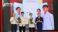 49 sản phẩm được trao giải tại cuộc thi Sáng tạo thanh, thiếu niên, nhi đồng tỉnh Nghệ An