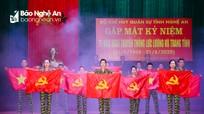 Gặp mặt kỷ niệm 75 năm Ngày truyền thống LLVT tỉnh Nghệ An