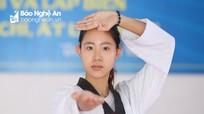 Nữ sinh với ước mơ trở thành hướng dẫn viên du lịch và tấm HCV Taekwondo