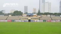 Sân Vinh vẫn đảm bảo tổ chức trận Sông Lam Nghệ An - Nam Định