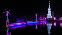 Những công trình độc đáo chào đón Giáng sinh ở Nghệ An