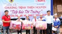 Hàng trăm suất quà đến với học sinh vùng biên xứ Nghệ