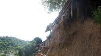 Chênh vênh những ngôi nhà bên miệng hà bá ở vùng cao Nghệ An