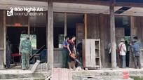 Điểm trường rẻo cao Nghệ An tu sửa phòng học sau bão kịp đón học trò
