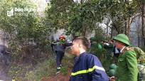 Cháy 0,5 ha rừng thông tại Diễn Châu