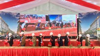 Nghệ An: Khởi công khu chợ hiện đại 330 tỷ đồng ở Đô Lương