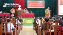 Kỳ họp thứ 9, HĐND huyện Anh Sơn ban hành nhiều nghị quyết quan trọng về kinh tế