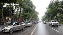 Thành phố Vinh sẽ tiếp tục hạ bó vỉa cho người dân đậu xe trên vỉa hè