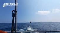 Tàu cá gặp nạn trên biển, 6 ngư dân Nghệ An phát lệnh cấp cứu