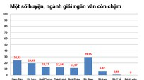 Một số nguồn vốn, công trình ở Nghệ An chậm giải ngân