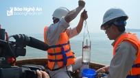 Nước biển Quỳnh Phương, Diễn Thành có 2 thông số vượt ngưỡng an toàn