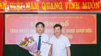 Trung tâm Khuyến nông Nghệ An có tân giám đốc