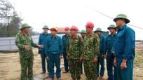 Bộ CHQS tỉnh kiểm tra công tác phòng, chống hoàn lưu bão số 9