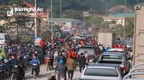 Náo nức phiên chợ biên Nghệ An những ngày giáp Tết