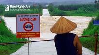 Mưa lớn gây sạt lở, ngập đường ở miền Tây Nghệ An, thủy điện Châu Thắng thông báo xả lũ