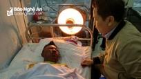 Tình thầy trò, tình bạn xúc động sau vụ nổ lớn khiến nam sinh bị thương nặng