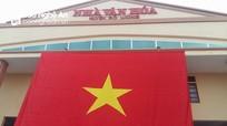 Huyện nông thôn Nghệ An thượng cờ chúc mừng chiến thắng của U23 Việt Nam